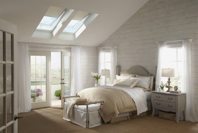 Velux traditional-bedroom