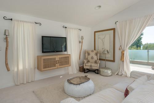 Contemporary Bedroom by Los Angeles Interior Designers & Decorators patty malone
