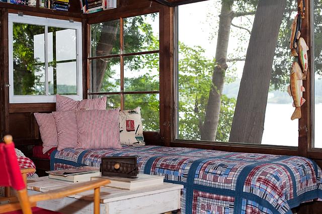 Vermont Lake Retreat Rustic Bedroom Burlington By Sally Scott Interior Designer