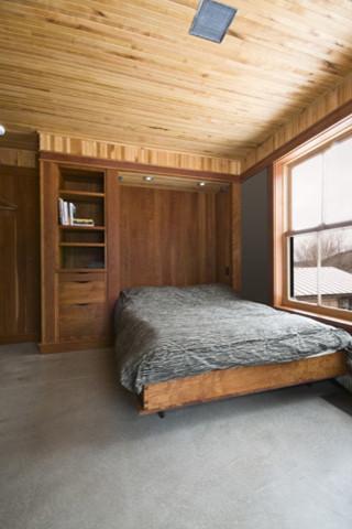 Vermont Organic Farm contemporary-bedroom