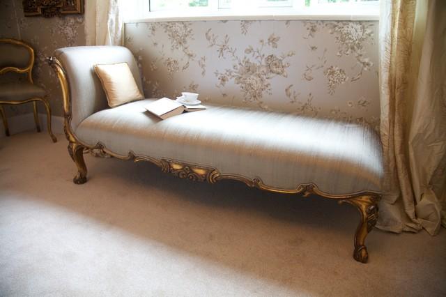 Versailles gold chaise longue classico camera da letto - Letto versailles ...
