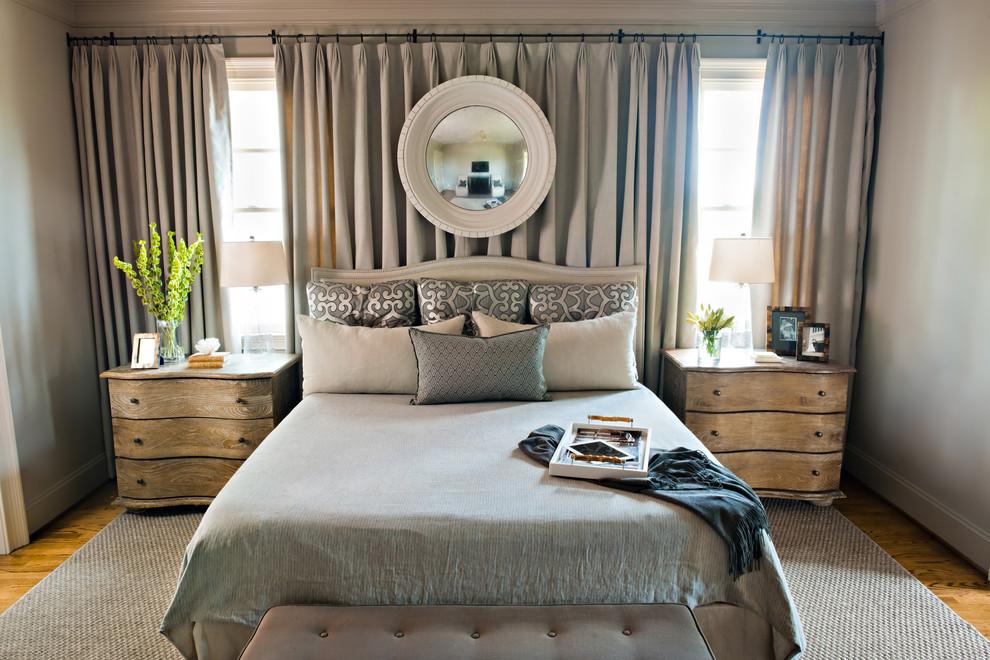 Trendy bedroom photo in Birmingham