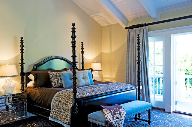 Vibrant Palisades Transitional transitional-bedroom