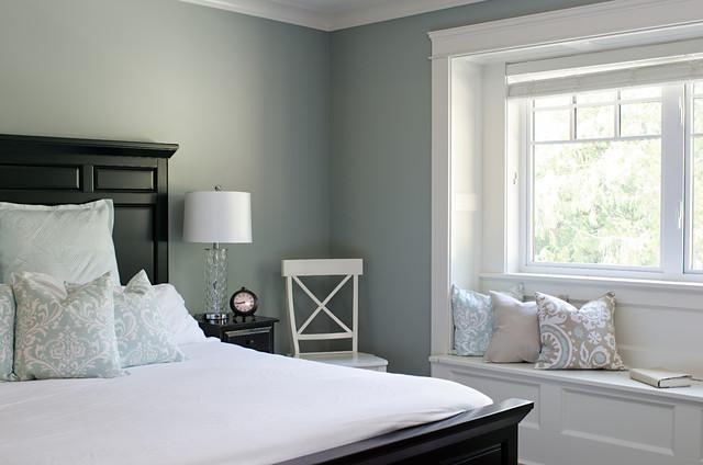 victoria bc luxury craftsman  traditional  bedroom