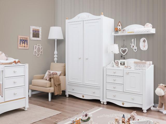 Victorian Baby traditional-bedroom