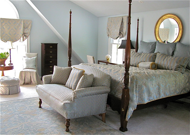 traditional bedroom by Stacy Curran