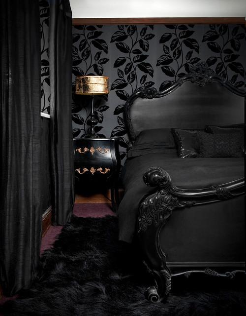 Black Victorian Bedroom Victorian Bedroom