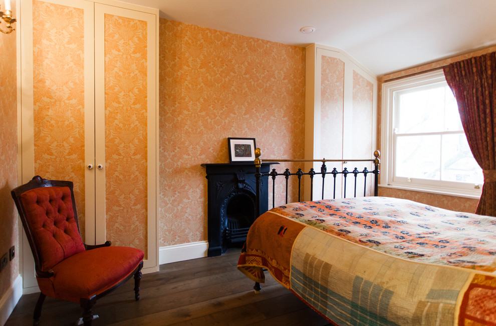 Victorian Era Influenced Home In Shepherds Bush Victorian Bedroom London By Temza