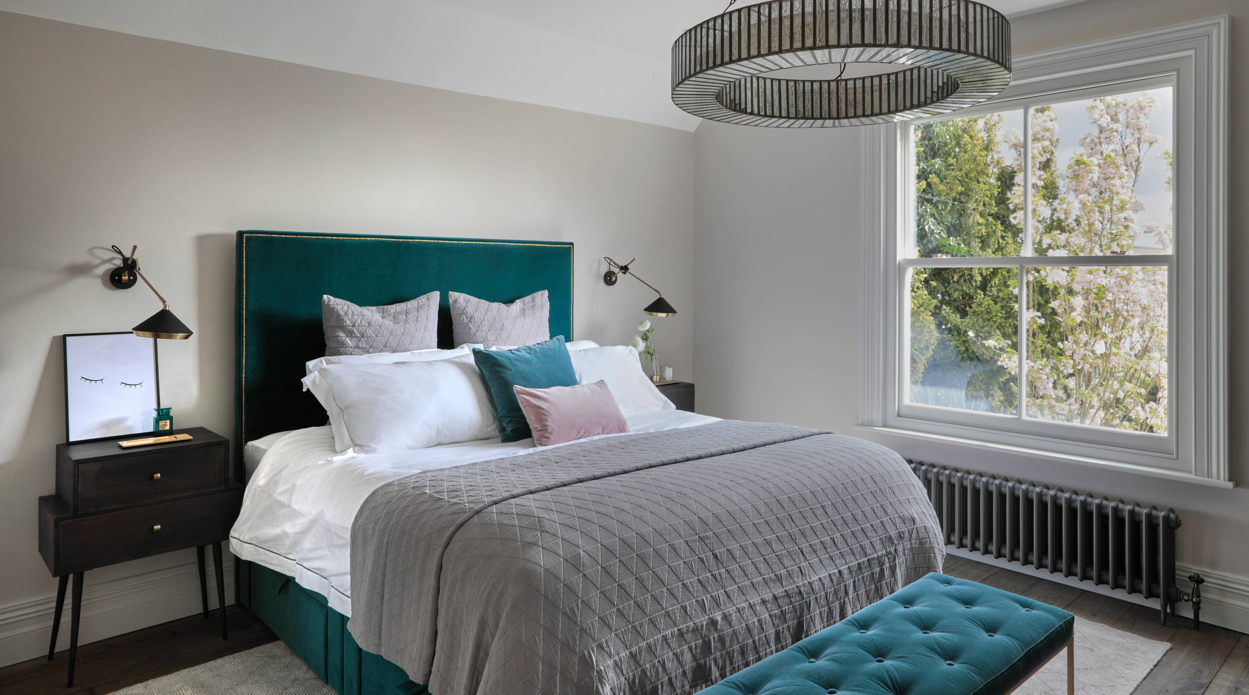 Dark Teal Bedroom Ideas And Photos Houzz