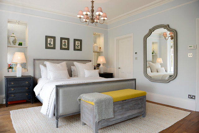 Victorian Family Home in South West London victorian-bedroom