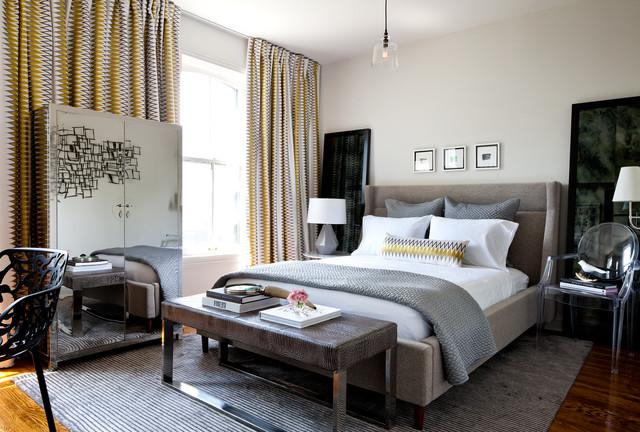 Victorian Home Contemporary Bedroom