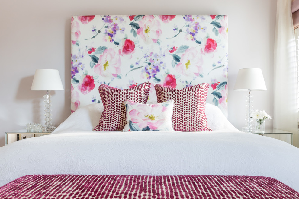 Inspiration for a victorian bedroom remodel in London