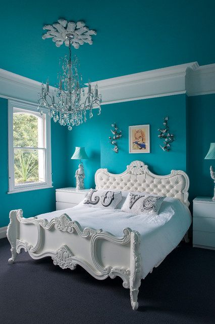 Victorian villa - Eclectic - Bedroom - Gloucestershire - by Raw Design