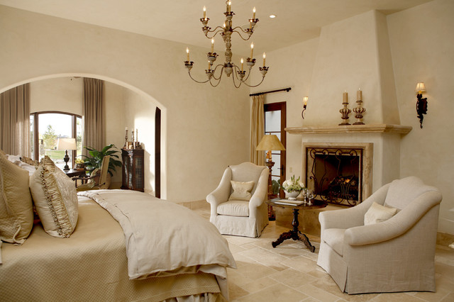 Villa Encanto Model Home mediterranean bedroom