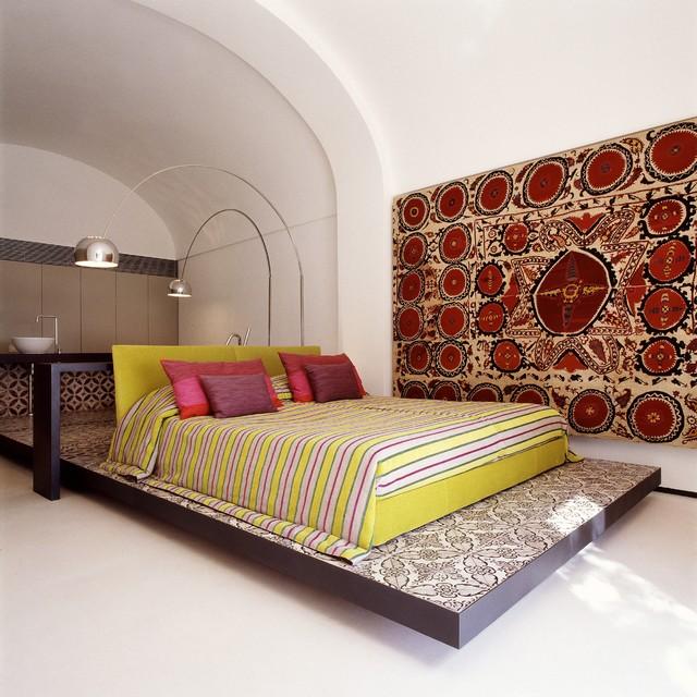Villa in positano   mediterraneo   camera da letto   napoli   di ...