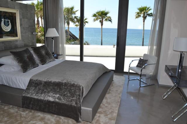 Villa Los Monteros contemporary-bedroom