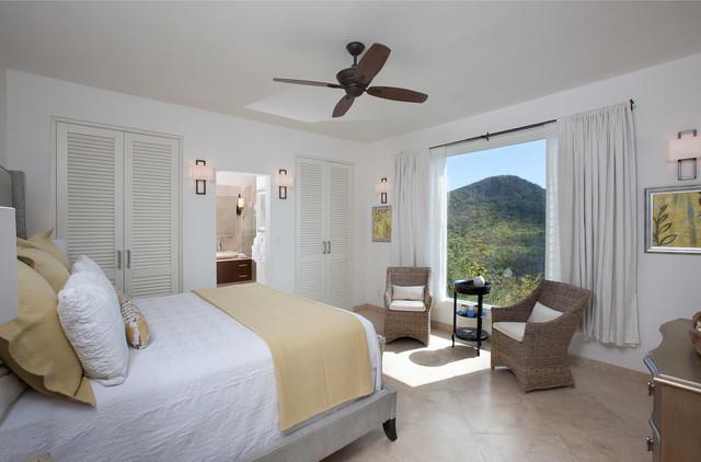 Villa Saccharum - Sugar Ridge tropical-bedroom