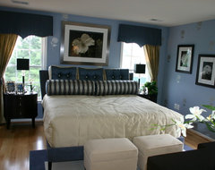 Villages of Herndon Mills Model Home traditional bedroom
