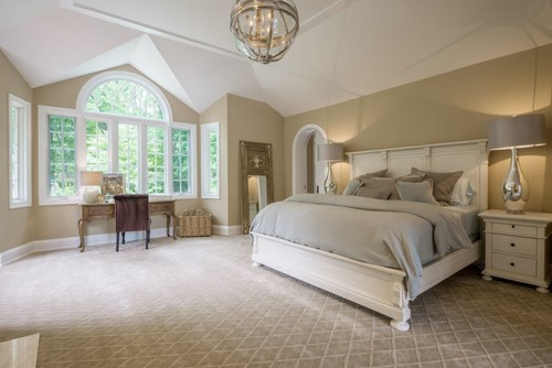 Who makes the carpet for Master bedroom vaulted ceiling paint ideas