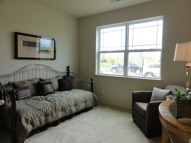 Villas at Maple Creek Condos in Canton traditional bedroom