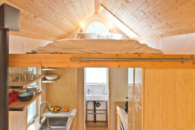 Vinas Tiny House Contemporary Bedroom Other Metro