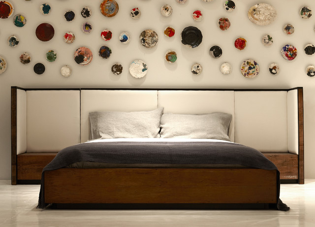 Vincent Bed Contemporary Bedroom
