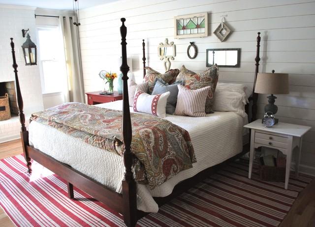 Terrific Vintage Cottage Bedroom Farmhouse Bedroom Atlanta By Download Free Architecture Designs Scobabritishbridgeorg