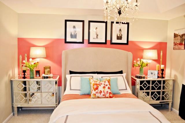 Vintage Glam Bedroom Contemporary Bedroom Miami By