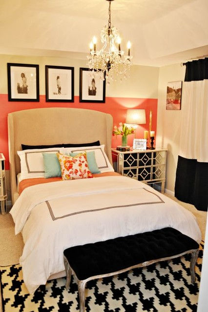 Vintage Glam Bedroom Contemporary Bedroom Miami By Nicole White Designs Inc