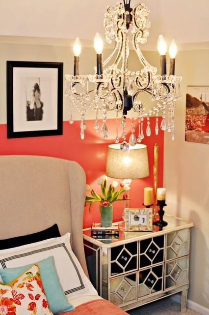Vintage Glam Bedroom contemporary-bedroom