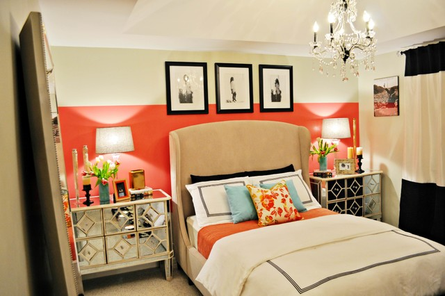 Vintage Glam Bedroom Contemporary Bedroom Miami By