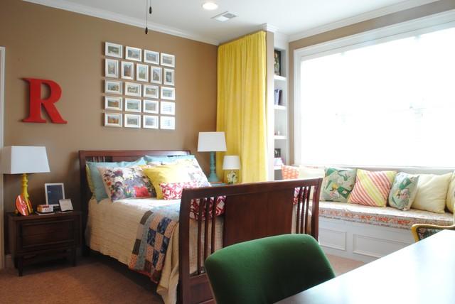 Vintage modern bedroom eclectic bedroom atlanta by for Vintage eclectic bedroom