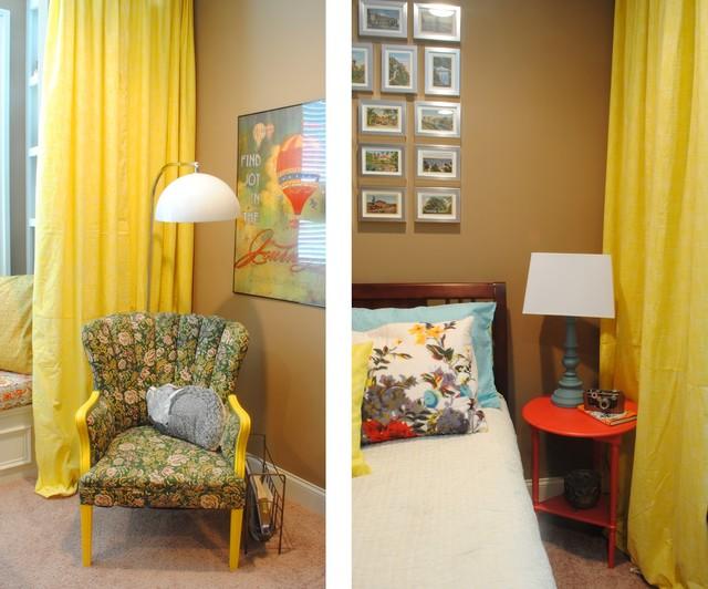 Vintage modern for Vintage eclectic bedroom