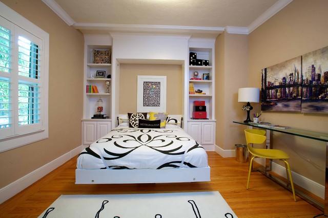Vintage Modern Living Eclectic Bedroom
