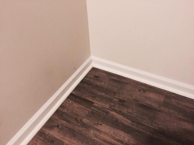 Vinyl floor trim gurus floor for Hardwood floors quarter round