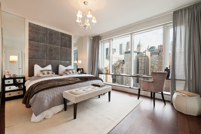 Visionaire In Nyc Contemporary Bedroom