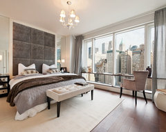 Visionaire in NYC contemporary-bedroom