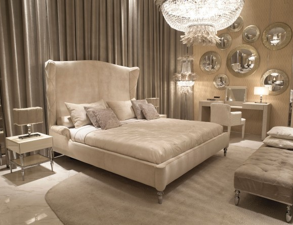 Visionnaire Siegfrid Bed Modern Bedroom New York