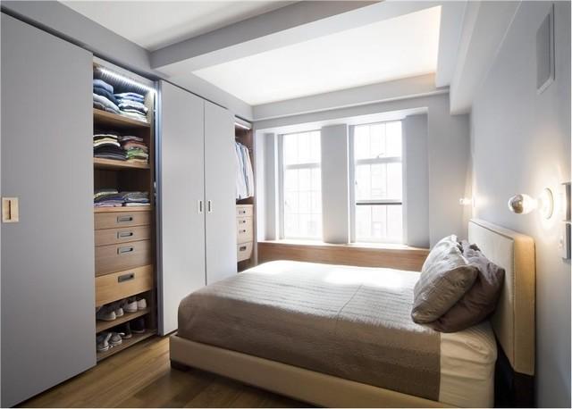 W. 24th Street modern-bedroom