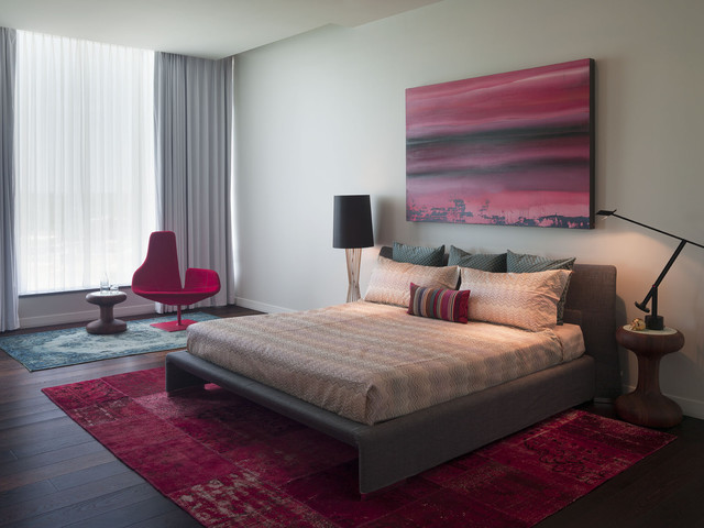 modern bedroom by Urbanspace Interiors
