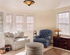 Waban Tudor contemporary-bedroom
