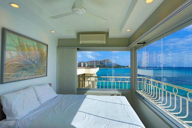 Hawaiian Style Bedroom: Waikiki Shore