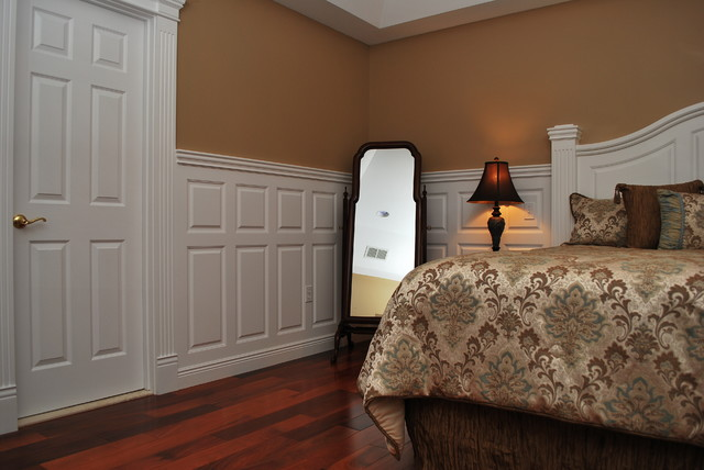 Wainscoting Beadboard With Raised Panel Headboard