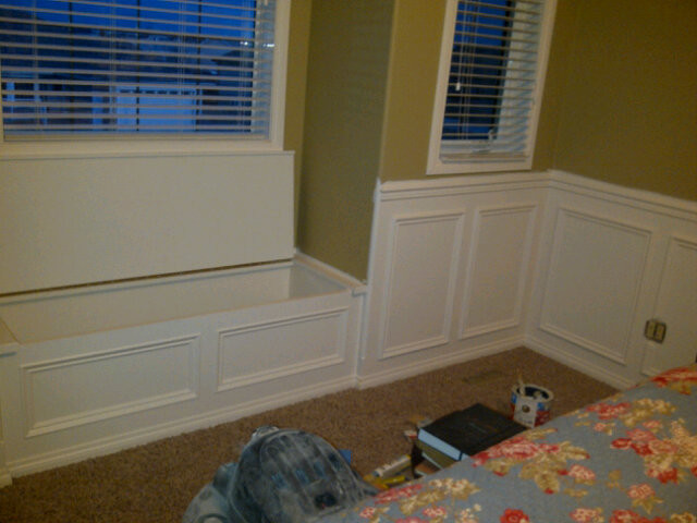 Wainscoting Builds - Traditional - Bedroom - other metro - by Top Notch Interiors