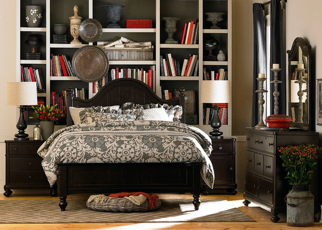 Wakefield Arched Panel Bed by Bassett Furniture