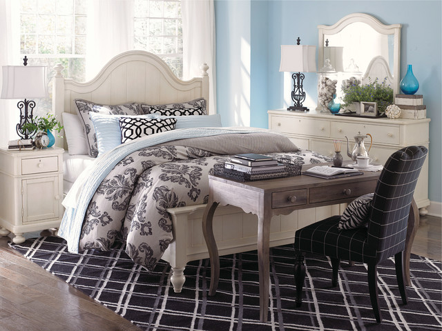 Wakefield Arched Panel Bed By Bassett Furniture Contemporary Bedroom Raleigh By Bassett