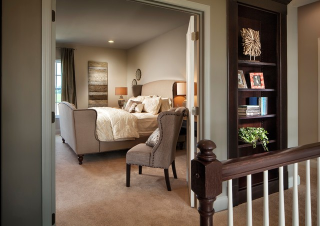 Walden Model Home traditional-bedroom