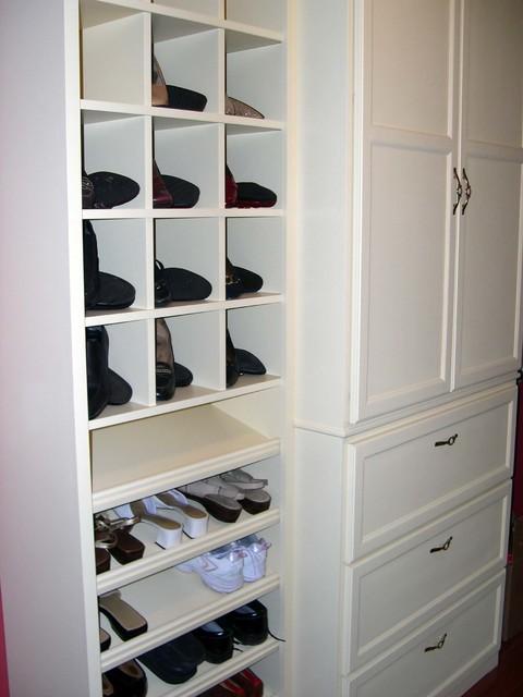 Walk-in closet bedroom
