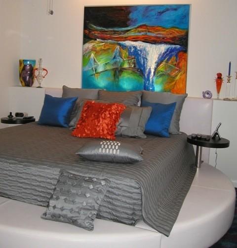 Walking alone-  sold contemporary-bedroom