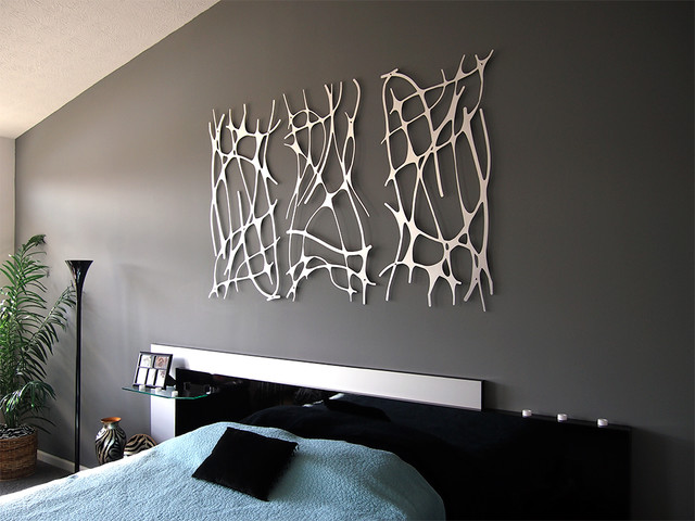 Wall Art 2 Modern Bedroom Indianapolis By Moda Industria